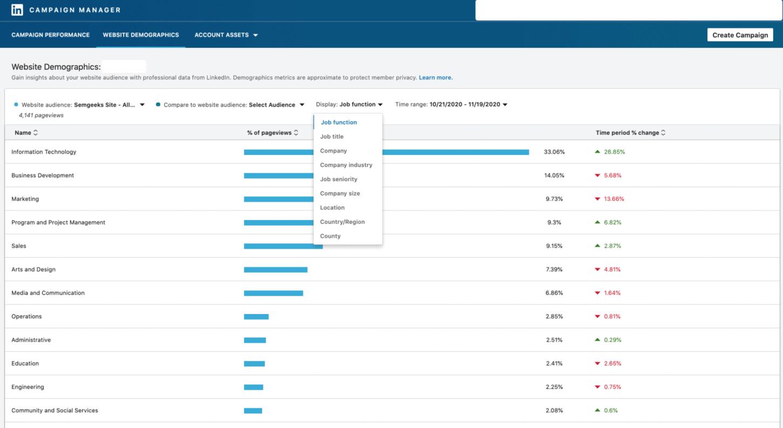 linkedin-demographics